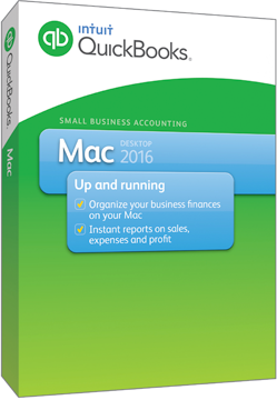 Intuit QuickBooks for MAC 2016 - 1 License - Download
