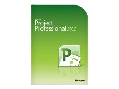 Microsoft Project Professional 2010 Download, Mfg Number h30-03318