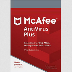 McAfee Antivirus Plus (1 Device) (1-Year Subscription) PC/Mac - Download