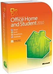 Microsoft Office 2010 Home and Student - 1 PC - Download Microsoft, Office, Home, Business, Word, Excel, Powerpoint, Wordprocessing, Spreadsheet, Slideshow, Email