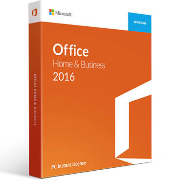 Microsoft Office 2016 Home and Business-for Windows - No Account - Download