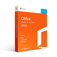 Microsoft Office 2016 Home and Student for Windows- Download