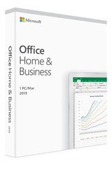 Microsoft Office 2019 Home and Business for Mac - Retail PKC