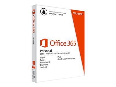 Microsoft Office 365 Personal - Retail PKC