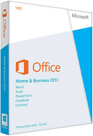 Microsoft Office Home and Business 2013 - DVD Download