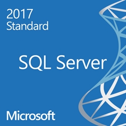 SQL Server 2017 Standard - 4 Core License - Unlimited Clients OLP