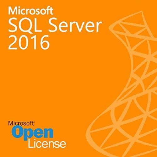 SQL Server 2016 Standard - 4 Core License - Unlimited Clients OLP