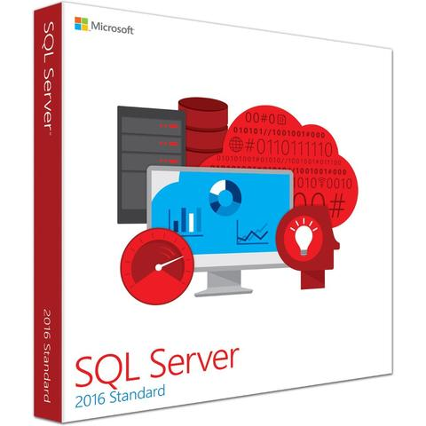 SQL Server 2016 Standard  - 4 Core License - Unlimited Clients Download