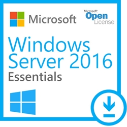 Windows Server 2016 Essentials (for up to 25  Users)  OLP/SA