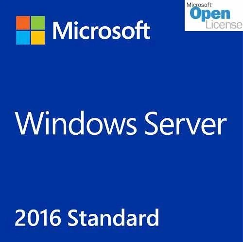 Windows Server 2016  Standard  16 Core OLP/SA