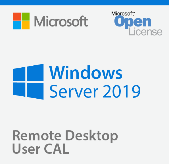 Windows 2019 Remote Desktop Services 5 User  CALs  SA