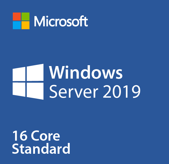 Windows Server 2019 Standard 16 Core License with 10 CALs - Download