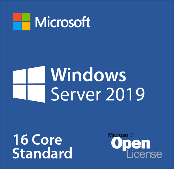 Windows Server 2019 Standard 16 Core License with 10 CALs OLP