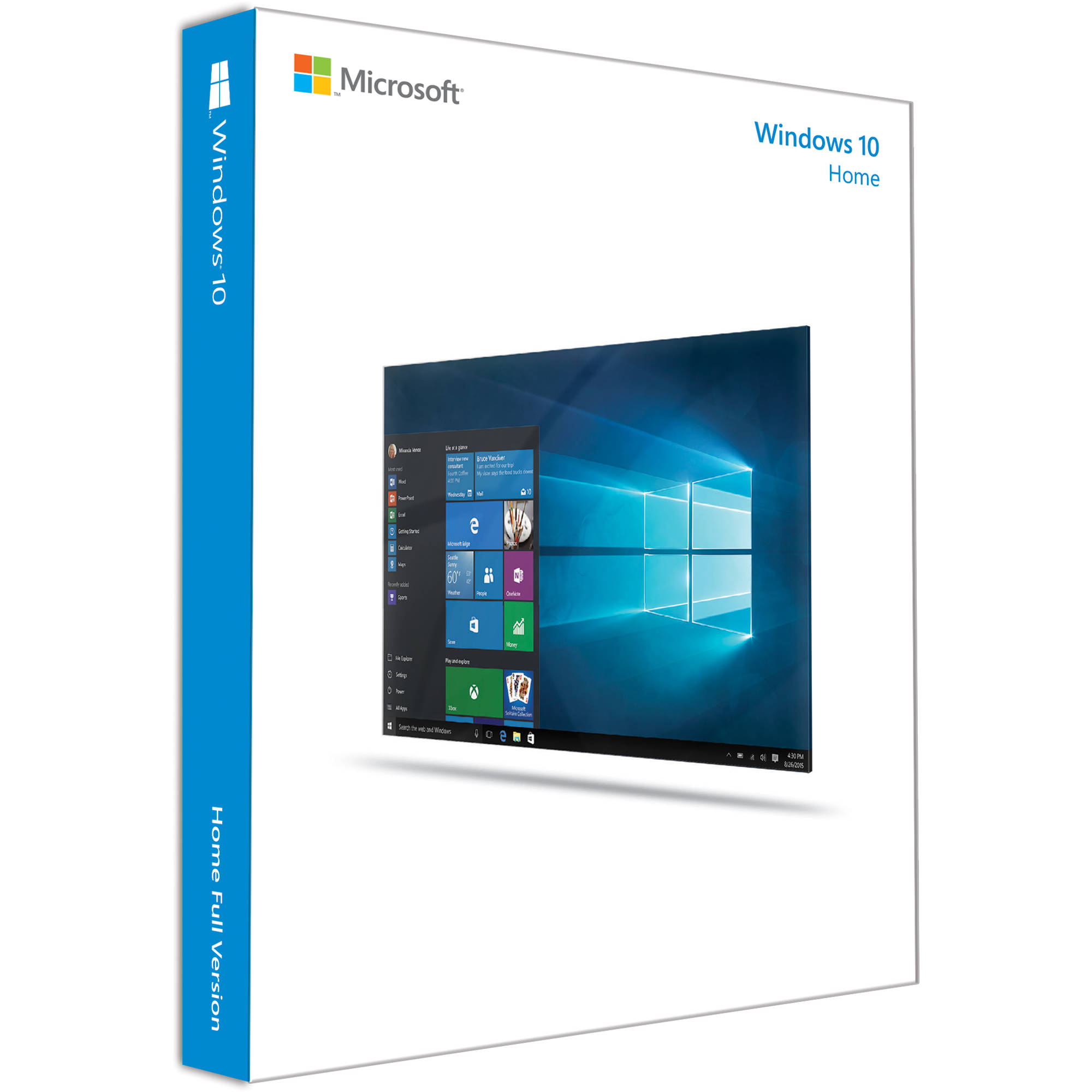 Windows 10 Home 32/64-bit OEM - Download