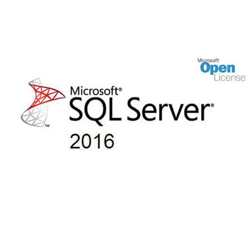 SQL Server 2016 Standard - 4 Core License - Unlimited Clients  SA