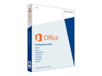 Microsoft Office Professional 2013 - Retail PKC
