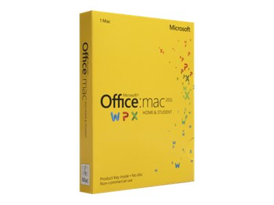 Microsoft Office for Mac Home and Student 2011 - Download